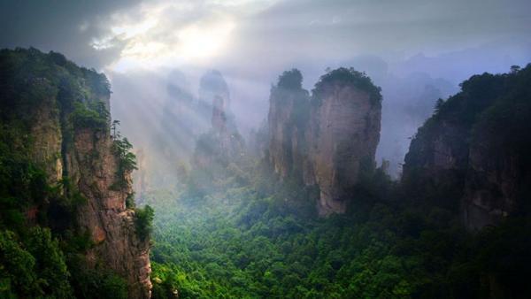 Wulingyuan Scenic Area, Zhangjiajie