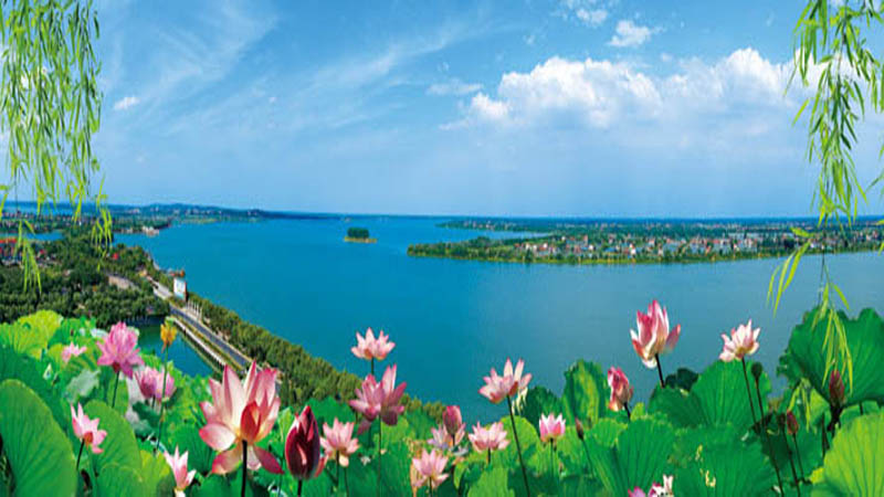 Changde Liuye Lake Tourist Resort Area