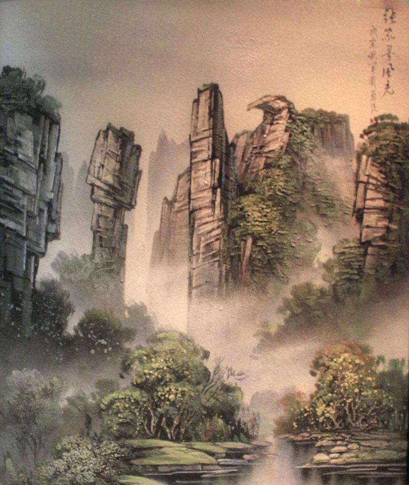 Zhangjiajie Sandstone Painting