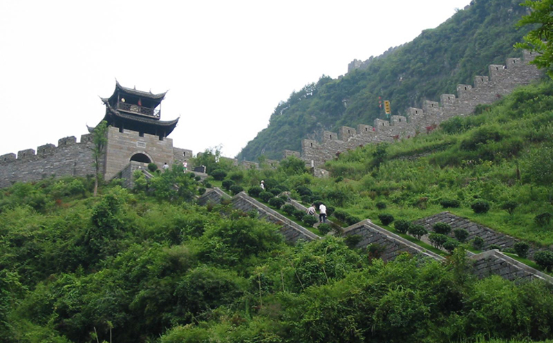 The Southern Great Wall of Fenghuang