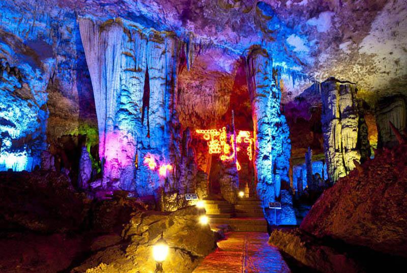 Zhangjiajie Jiutian Cave
