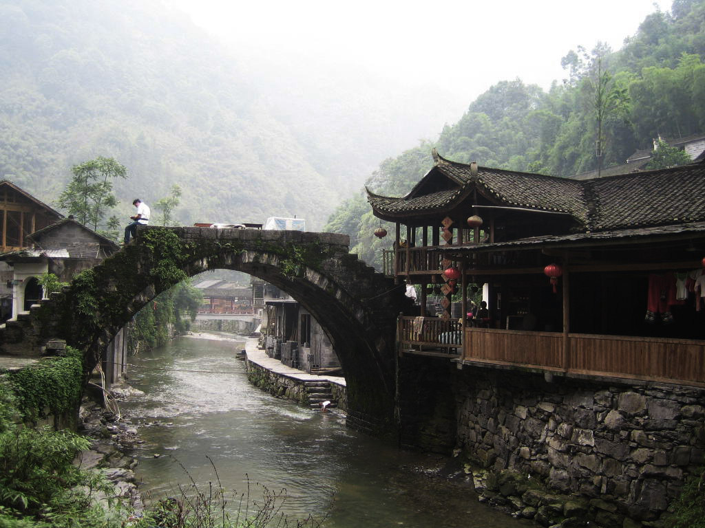 Aizhai Bridge in Western Hunan