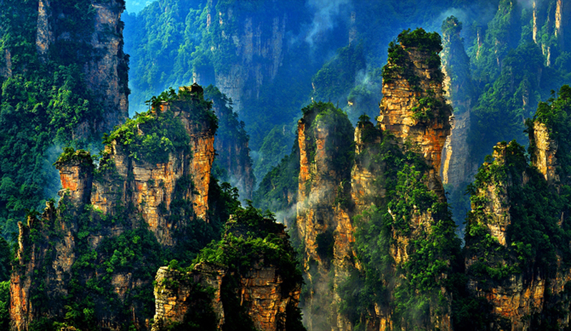 Yaozizhai in Zhangjiajie National Forest Park