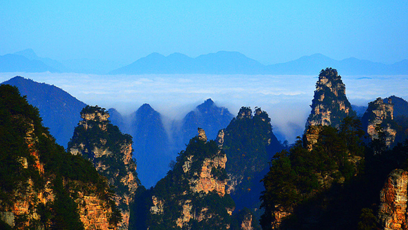 Yaozizhai of Zhangjiajie National Forest Park