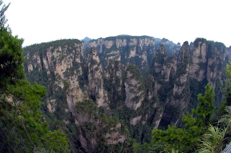 Tianzi Mountain in Wulingyuan Scenic Zone