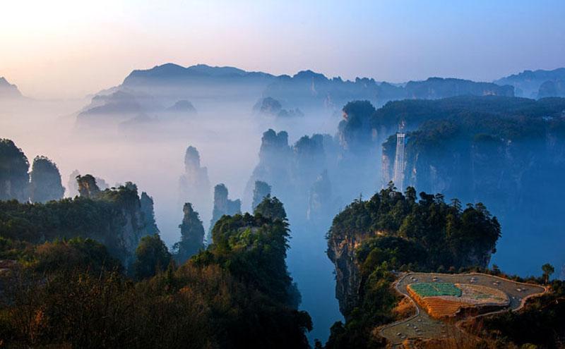 Introductions of Zhangjiajie