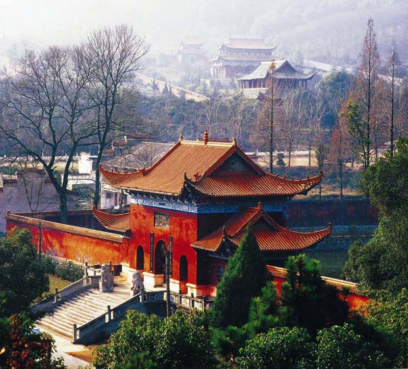 Jiashan scenic area in Changde