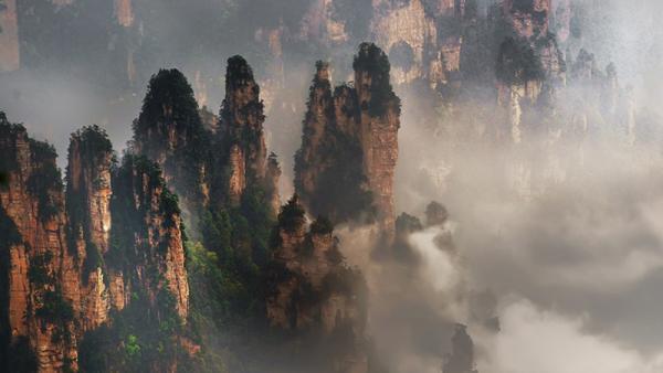 Yellow Stone Village in Zhangjiajie Forest Park