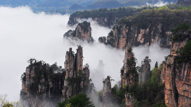 4-Day Avatar Magic Tour in Zhangjiajie