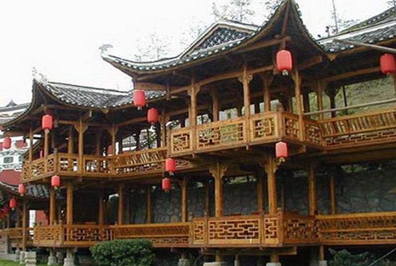 Xiuhuashan museum in Zhangjiajie