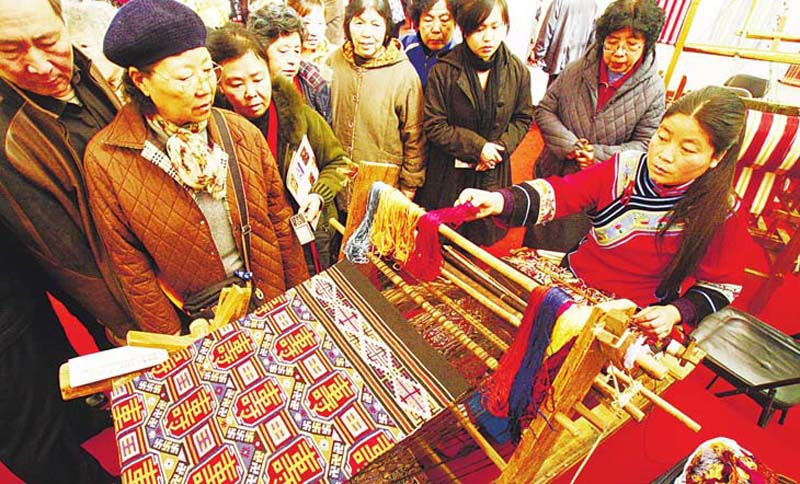 Three Treasures for Tujia Girls