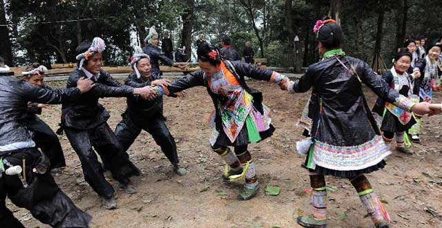 Ancient Culture Protected in Basha Tribe, SW China