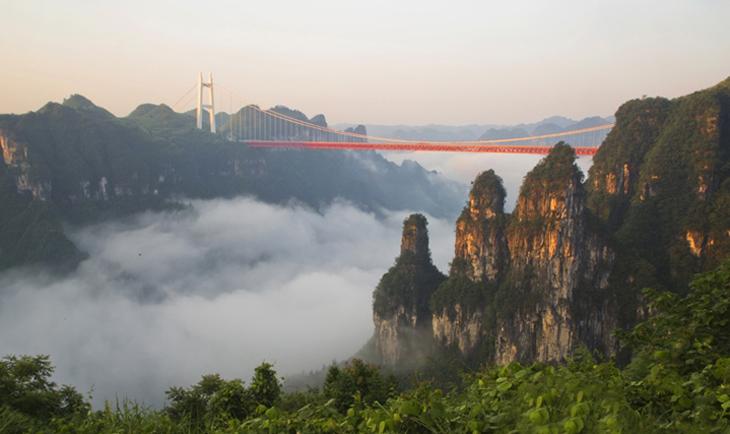 6-Day Zhangjiajie-Hangwu Village-Fenghuang Experience Tour