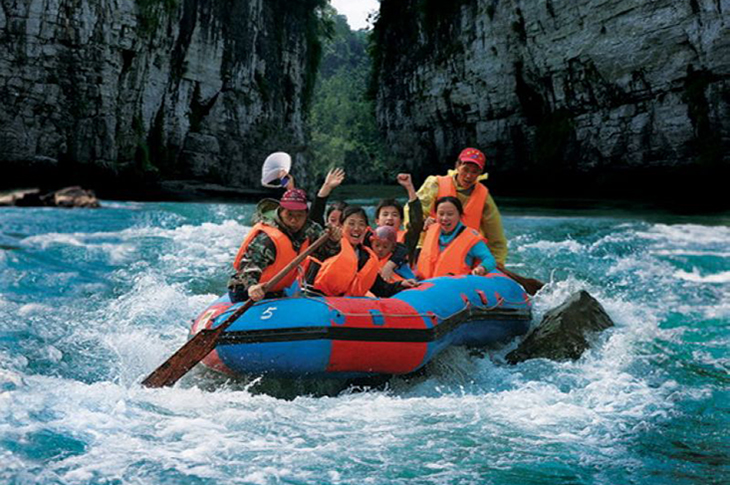4-Day Zhangjiajie Rafting Tour