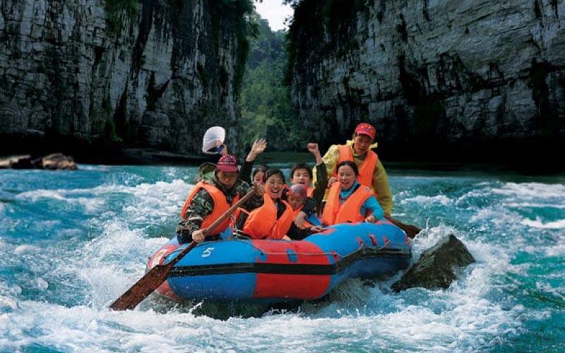 4-Day Zhangjiajie Rafting Tour