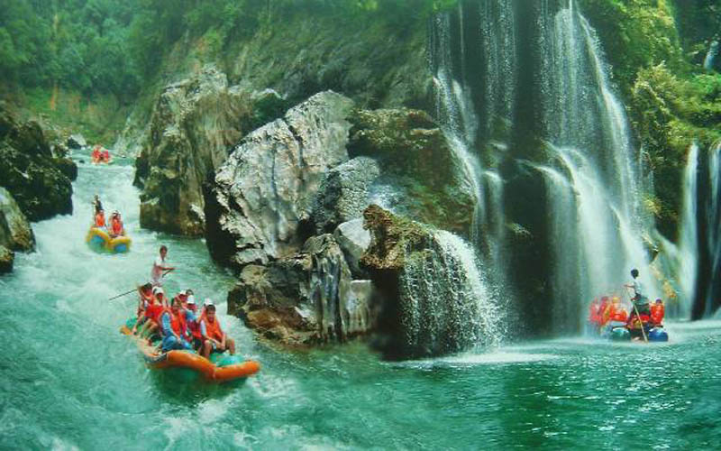 4-day zhangjiajie discovery, glass bridge and rafting tour