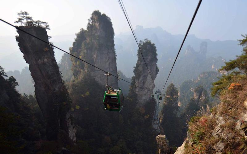6-Day Zhangjiajie Discovery and Rafting Tour
