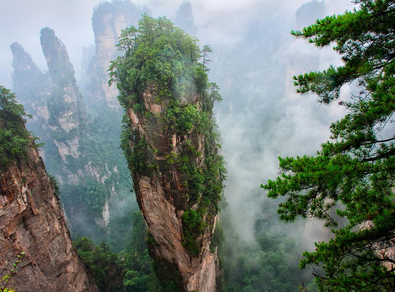 "Zhangjiajie Regard as one of the Global ""Dream Place"""