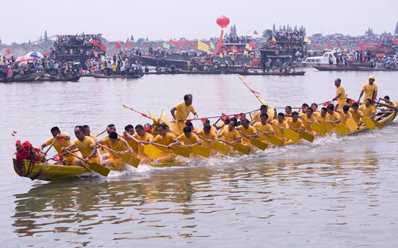 Dragon Boat Festival Celebrate in Hunan