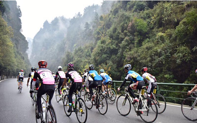 First Cross-strait Cycling Challenge will Start on March 28 in Zhangjiajie
