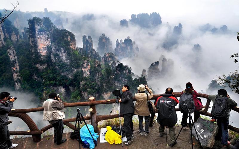 Tianzi Mountain Ranked First on Top 10 Real Amazing Places on Earth