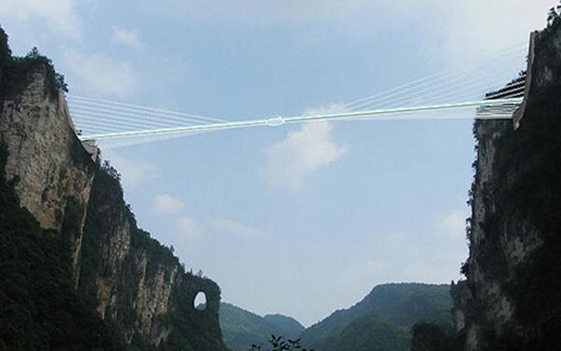 Zhangjiajie Grand Canyon Glass Bridge Will Open to Tourists in Octor