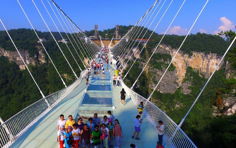 4-Day Zhangjiajie National Forest park and Glass Bridge Tour